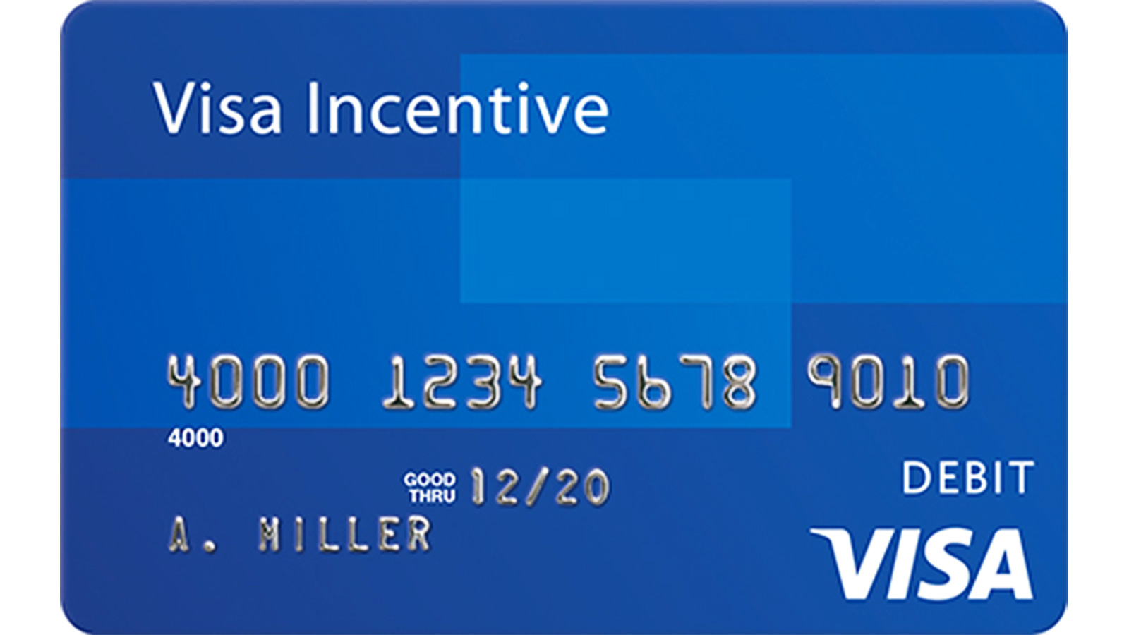 Visa Incentive Card