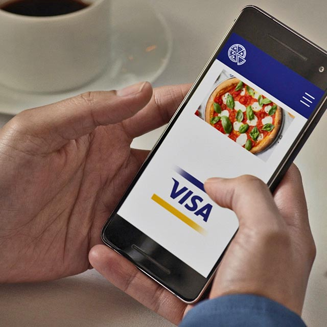 click to pay with visa